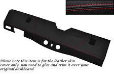 RED Stitch Bottom DASH Dashboard Copertura si adatta Land Rover Defender 90 110 83-06