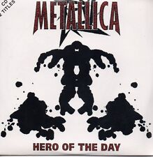 CD Single METALLICA	Hero Of The Day 2-track CARD SLEEVE NEW SEALED Outta B Sides