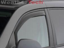 WeatherTech Side Window Deflectors - Pontiac Torrent - 2006-2009 - Dark Tint