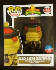Funko Pop Black and Gold Dragonzord Toy Tokyo NYCC 2017 Exclusive Power Rangers