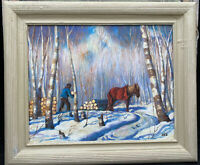 1920s CANADIAN IMPRESSIONIST LANDSCAPE OIL PAINTING - THE GROUP OF SEVEN ???