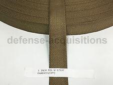 1 INCH MilSpec Military Webbing MIL-W-17337 C2 COYOTE (MARPAT) Per Yard