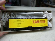 #697 Ho Car-Armour 40' Reefer Car Accurail Kit Built Kd'S