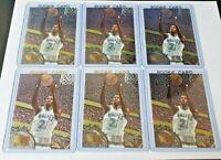 1995-96 Fleer Metal #167 Kevin Garnett Rookie Card (Lot of 6) - HOT CARD, Invest