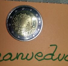 manueduc    LITUANIA    2015  2 Euros 30 Años BANDERA EUROPEA   UNC