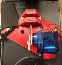 3DR Solo, payload release, bait drop, servo drone drop, 3d robotics, RED!!