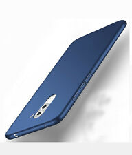 For Huawei Honor 6X Hard Back Case Cover(360 Degree) back Case Cover - Navy Blue