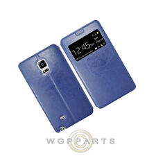 Samsung Galaxy Note Edge S-View Flip Cover Blue Cover Shell Protector Guard Case