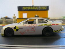 Scalextric Test Track Ford Taurus Car (Plus 4 Radius 2 Curves Free Of Charge)