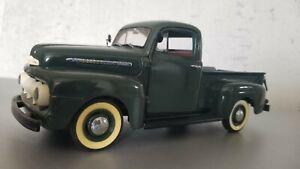"""Danbury Mint 1:24 1951 Ford F-1 Pickup Truck """"Meadow Green"""