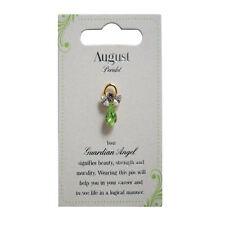 Guardian Angel August Birthstone Angel Pin With Gem Stone Sentimental Gift Idea