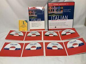 Ultimate Italian: Beginner-Intermediate Book & 8 CD Set Living Language