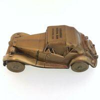 1974 BANTHRICO 1953 MG Model Car Piggy Bank  Albuquerque National Bank