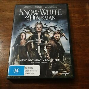 Snow White and the Huntsman DVD R4 Like New! FREE POST