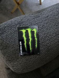 1-3x4 MONSTER ENERGY DRINK Decal Sticker, Car, Bike, PC, BMX, RC, Paintball