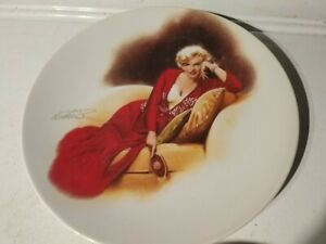 """Marilyn Monroe - """"Don't Bother To Knock"""" Collectors Plate - Delphi #13619B"""