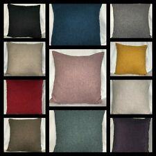 Lush Quality Wool Like Tweed Cushion Covers Various Sizes