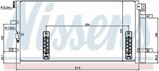 A/C Condenser-GAS, Turbo Front Nissens 940042