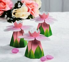 Wedding Flower Favor Boxes 12 Pieces