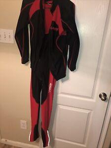 Zimco Cycling Wear Set Padded Bib and Jacket Size L