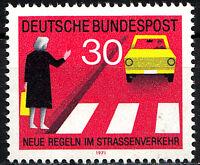 673 postfrisch BRD Bund Deutschland Briefmarke Jahrgang 1971