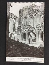 Vintage PC: Military WW1: #M309: Arras, Portal Of St John The Baptist Church
