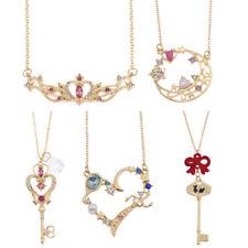 Fashion Anime Sailor Moon Halskette Anhänger Schmuck Geschenk Neu Damen Mädchen