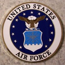Military Medallion U S Air Force metal NEW wall or shadow box mount