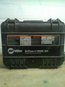 Miller 8vs suitcase wire feeder