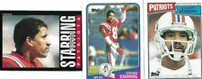 NEW ENGLAND PATRIOTS BORN IN BATON ROUGE LA MCNEESE ST 3 STEPHEN STARLING CARDS