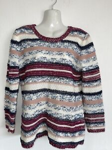 Lovely mulberry mix Jumper by Collection L. Size 12. Brand New.
