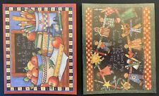8 Notecards, Lang, Main Street Press, Susan Winget, blank with envelopes