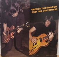George Thorogood & The Destroyers Rounder Records 3013 33rpm 081517DBE