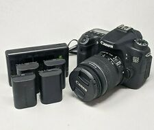 Canon EOS 70D 20.2 MP Digital SLR Camera With 18-55mm F3.5-5.6 IS II