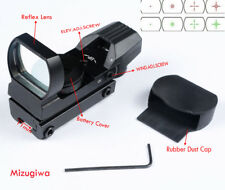 Tactical 4 Reticle Holographic Red Green Dot Reflex Scope Sight with 11mm Mount