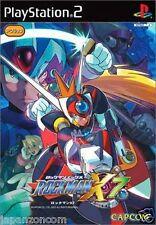 Used PS2  Capcom RockMan X 7  SONY PLAYSTATION JAPAN IMPORT