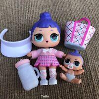 LOL Surprise Caddy Cutie Doll & Lil Caddy Boi Doll Underwrap Series Toys Gift