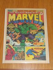 MIGHTY WORLD OF MARVEL #2 OCTOBER 14TH 1972 MARVEL BRITISH WEEKLY