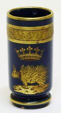 S.XIX / S.XX - Vaso de Porcelana de Tours, Jaget et Pinon con blasón de Luis XII