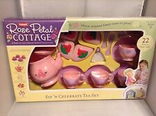 Playskool Rose Petal Cottage Sip & Celebrate Tea Set RARE