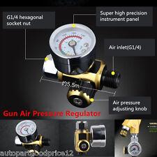 Auto Spray Gun Paint Air Pressure Regulator Gauge Spray Accessories 0-0.10Mpa