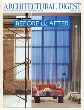 Architectural Digest February 2002 Before & After  021617DBE
