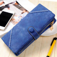 Fashion Women Clutch PU Leather Long Wallet Lady Card Holder Purse Handbag Lady,