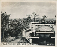 WWII June 1945 US Okinawa Photo Okinawa Tomb