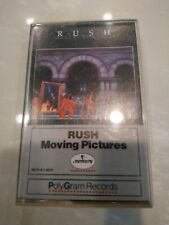 RUSH MOVING PICTURES CASSETTE 1981 pre-owned