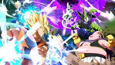 Cell FighterZ Frieza Gohan Dragon Ball Goku Silk Poster Wallpaper 24 X 13 inch