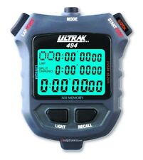 ULTRAK 494 300-Lap Stopwatch, Backlit Display NEW MODEL