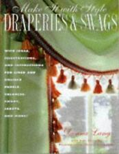 Make It with Style: Draperies and Swags, Lang, Donna, 0517887169, Book, Good