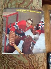 1972  Ken Dryden  ROOKIE  vintage signature  Montreal Canadiens  Signed magazine