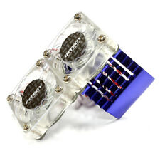 Integy Super Motor Heatsink +Twin Cooling Fan Blue 540/550 C23139BLUE